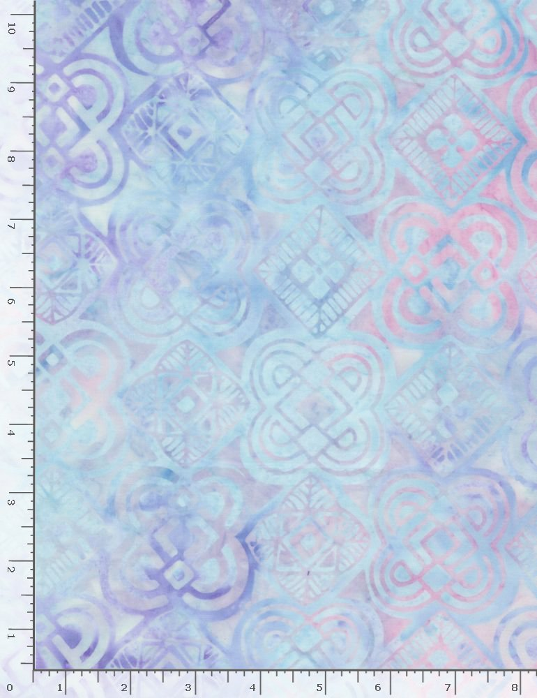 Timeless Treasures, Tonga Fantasy Batiks Lilac