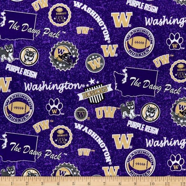 University of Washington Toss Purple