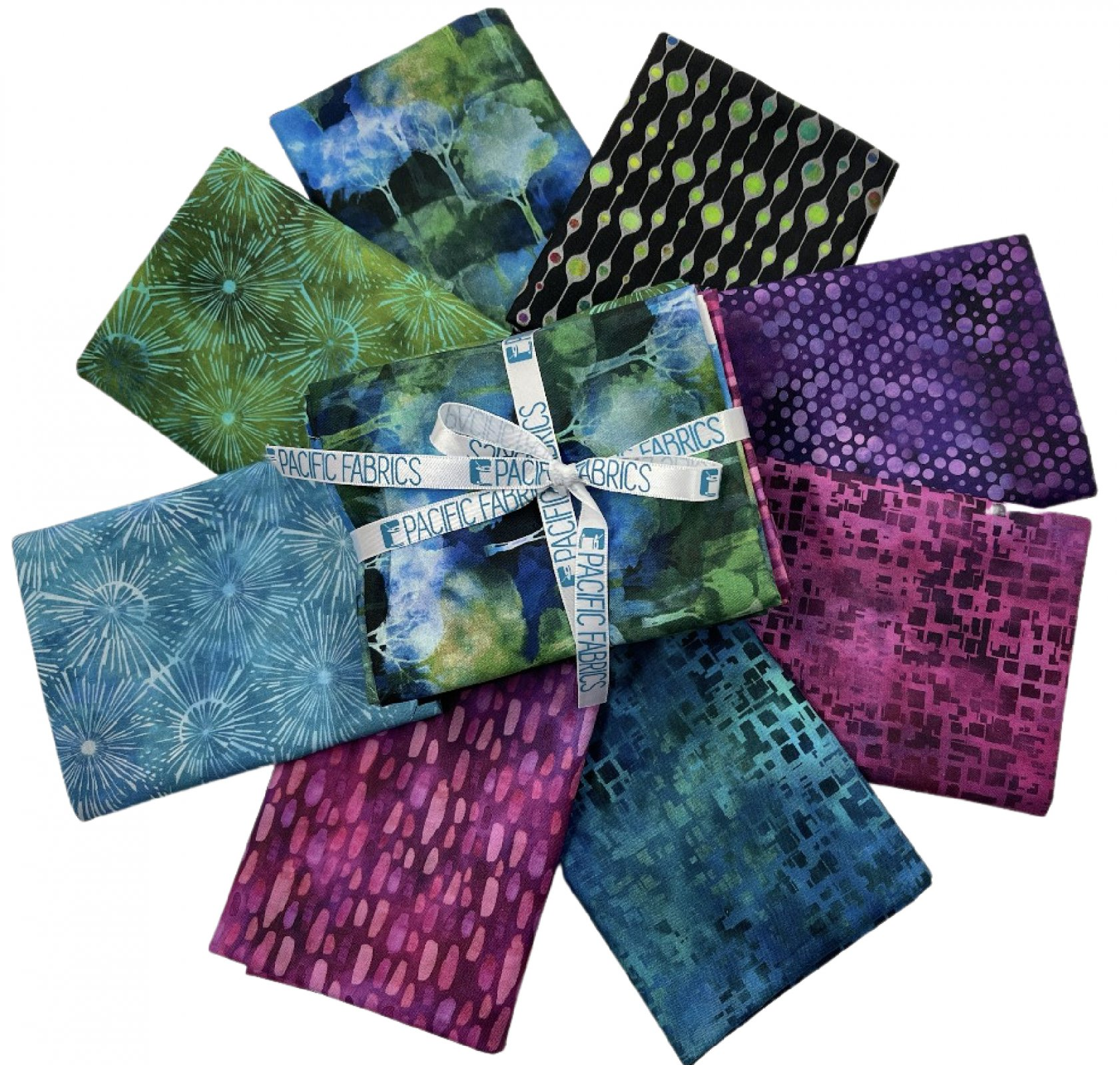 In the Beginning, Urban Jungle,  Fat Quarter Bundle #2 - 8pc