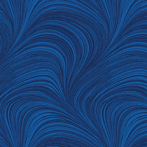 Benartex, WAVE TEXTURE,  Cobalt Blue