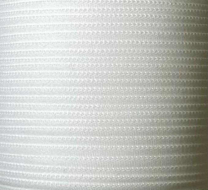 1/6 inch Banded Tube Elastic - WHITE 10 Yards