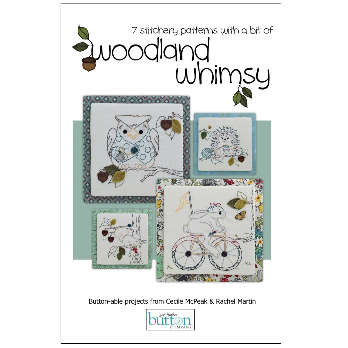 Woodland Whimsy Embroidery Kit