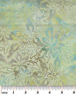 Benartex Tropical Breeze Balis Orchid Mint