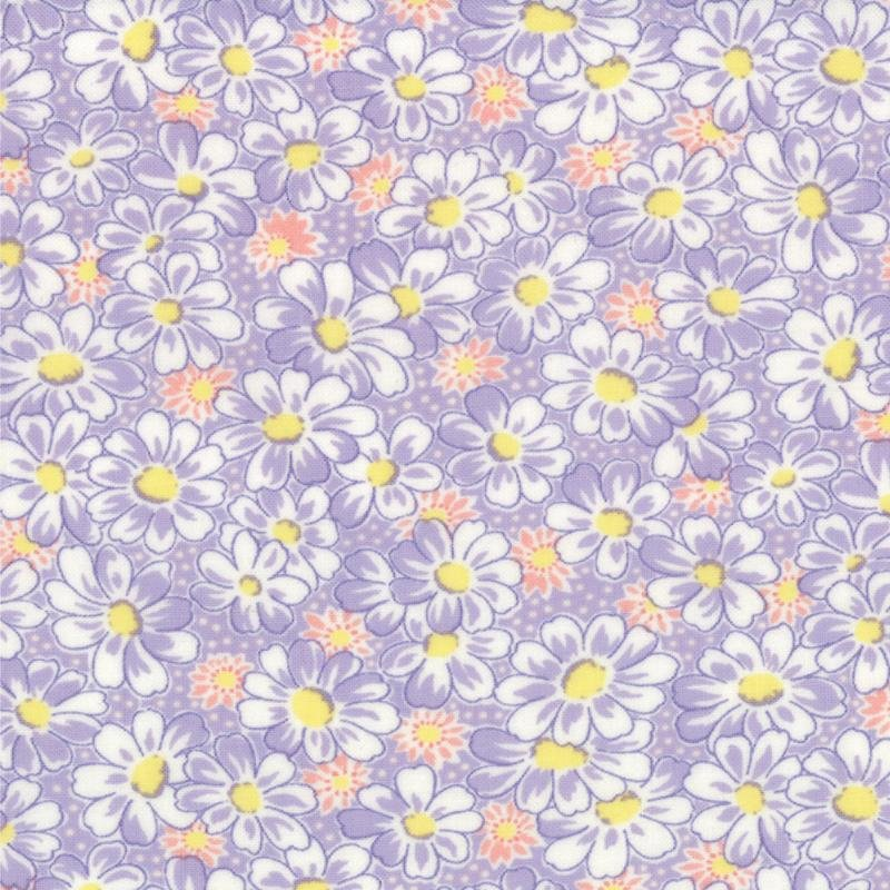 30's Playtime Favorites Daisies Lilac