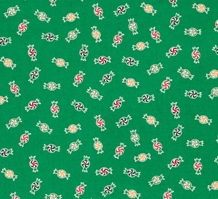 25 Days of Christmas Green with Candies