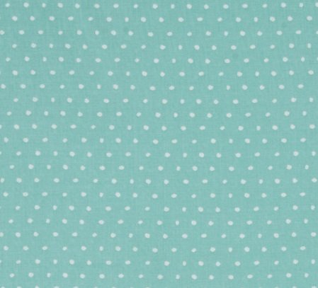 25 Days of Christmas Aqua with White Dots