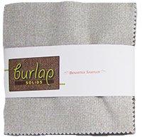 Burlap Solids 5 inch Squares