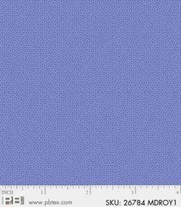 Crystals Medium Royal Blue