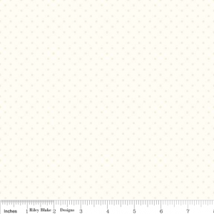 Basics Tone-On-Tone Swiss Dot Cream