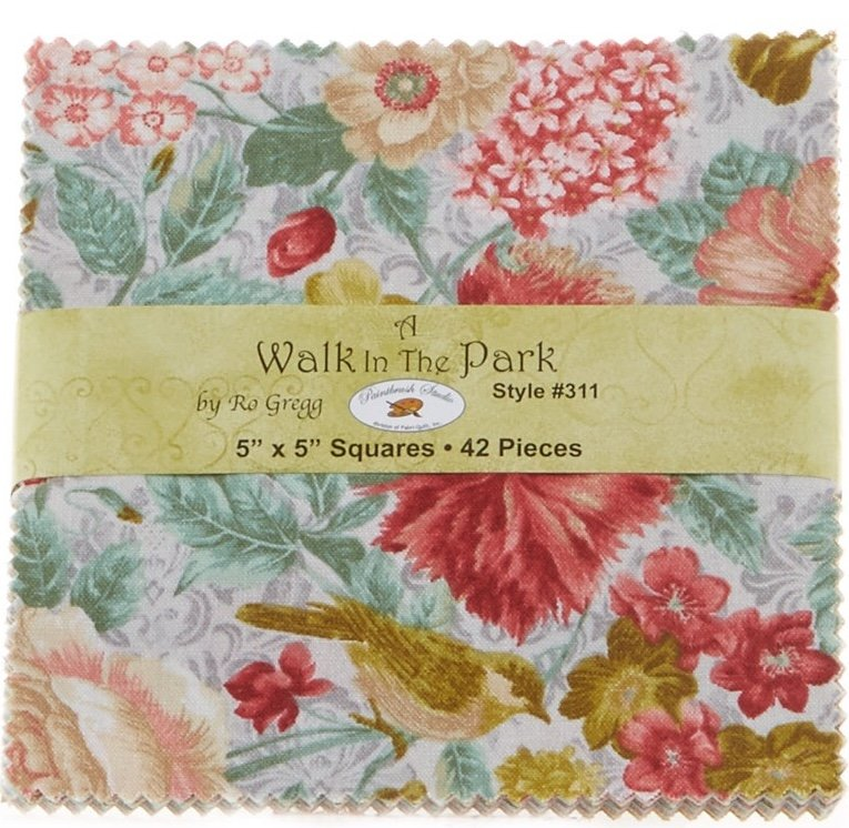 A Walk in the Park 5 inch Squares