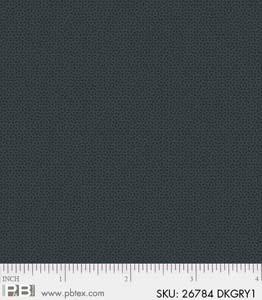 Crystals Dark Gray