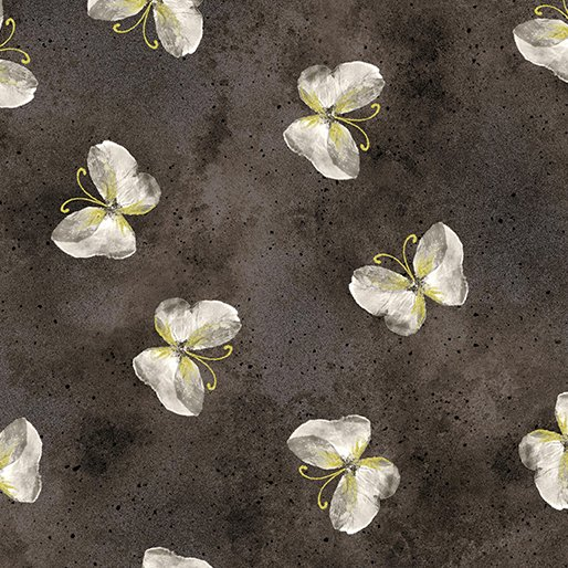 Floral Impressions Butterfly Wash Dark Gray