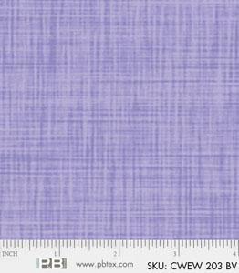 108 Wide Color Weave Blue Violet