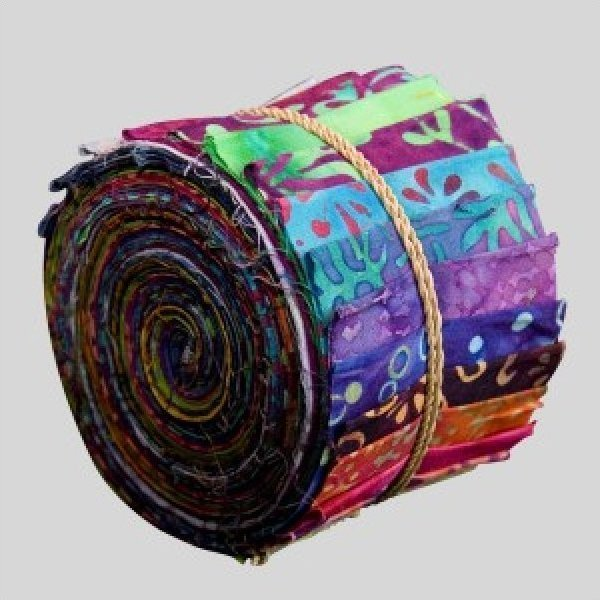 Batiks By Mirah Bright Jewels Sushi Roll
