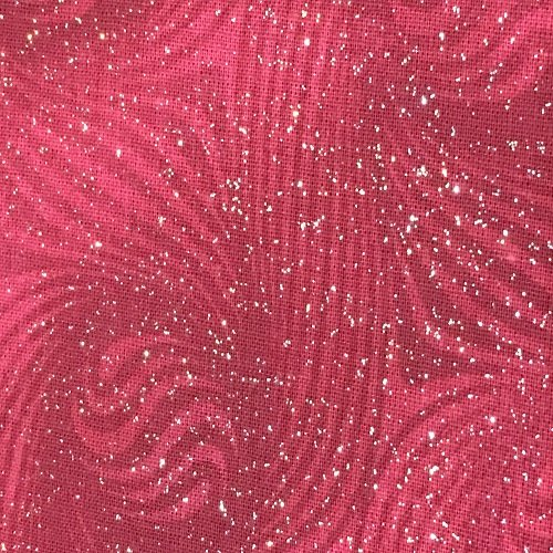 Crafty Cottons Glitter Red