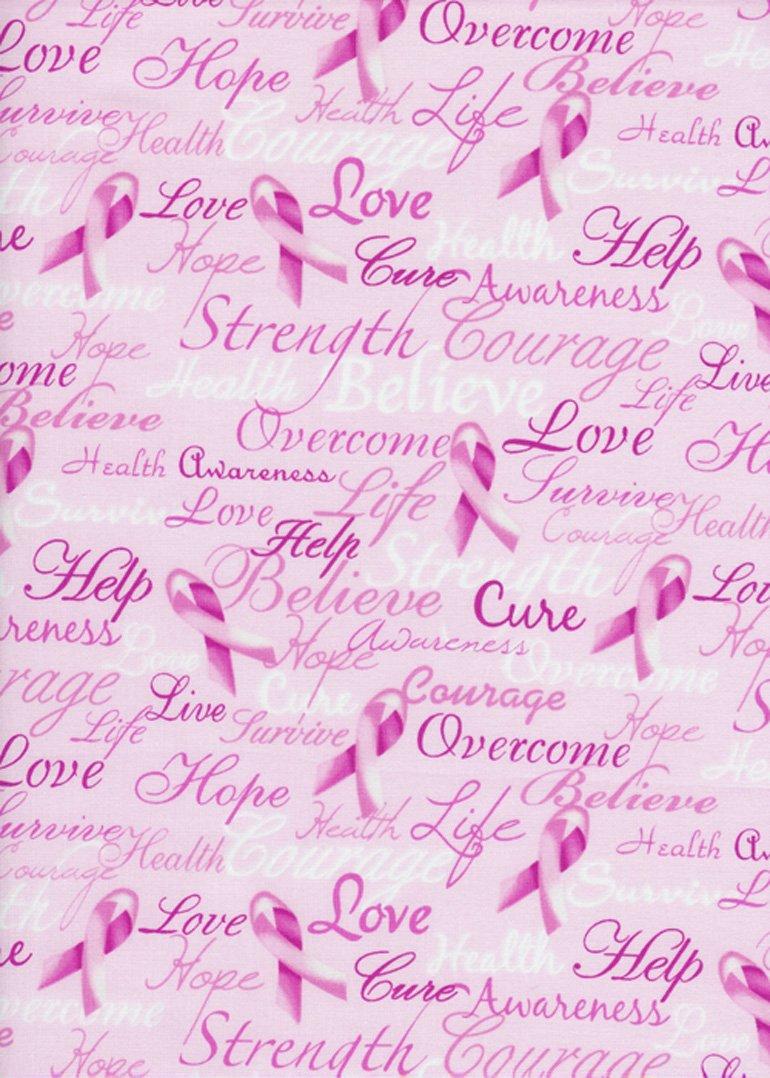 Cancer Awareness Pink Ribbon