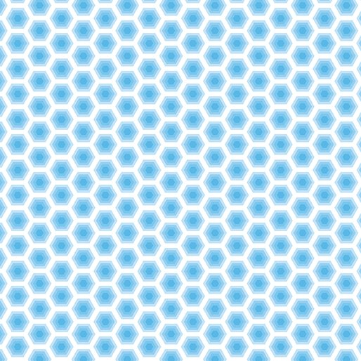 Bobo Baby Honeycomb Light Blue