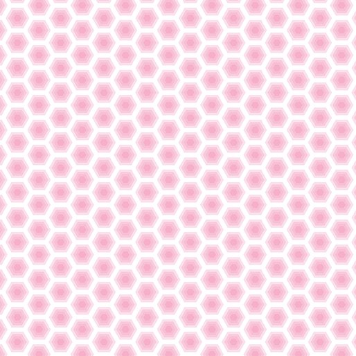 Bobo Baby Honeycomb Light Pink