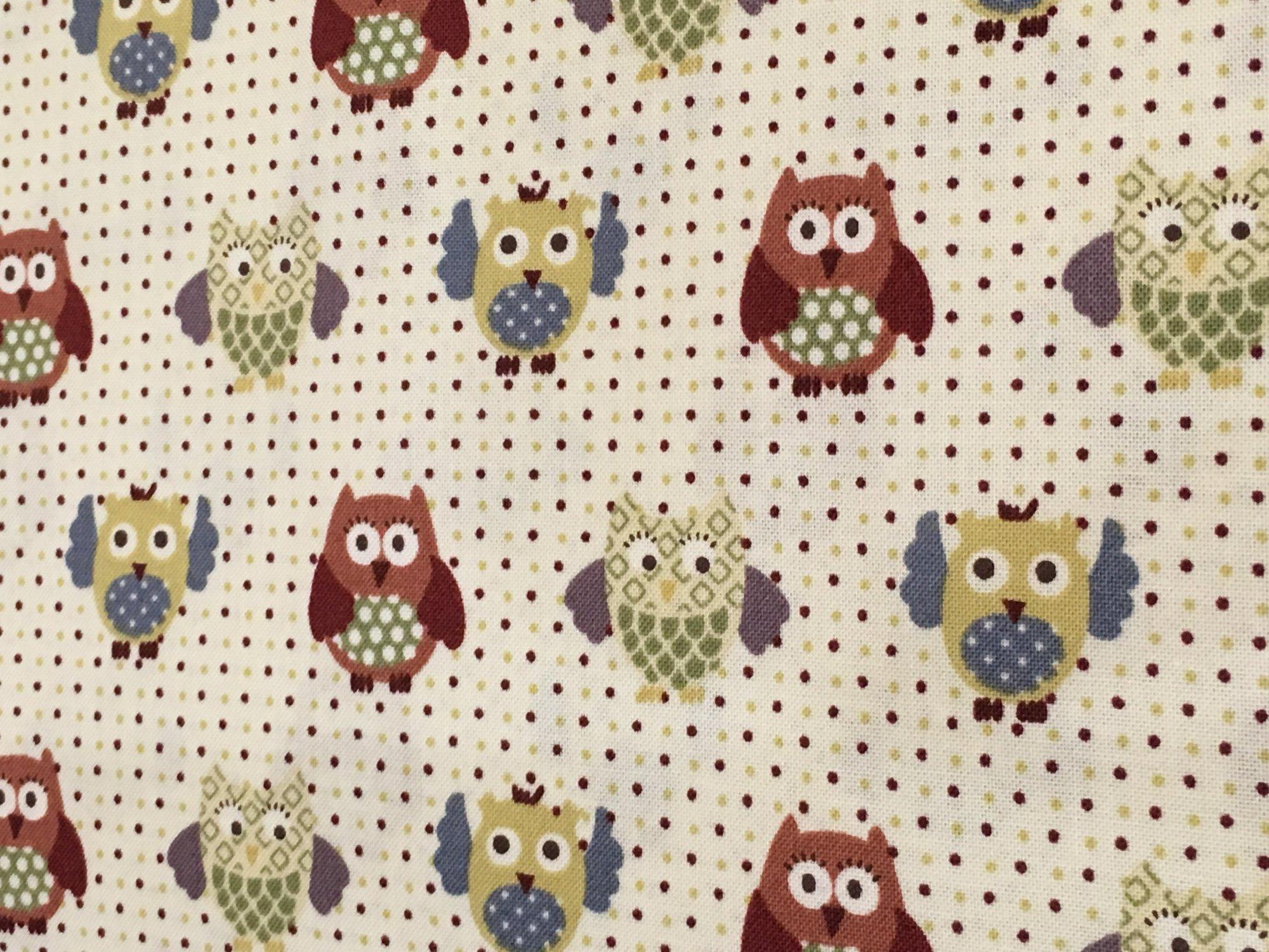 O.B.O.- Owls and dots Beige