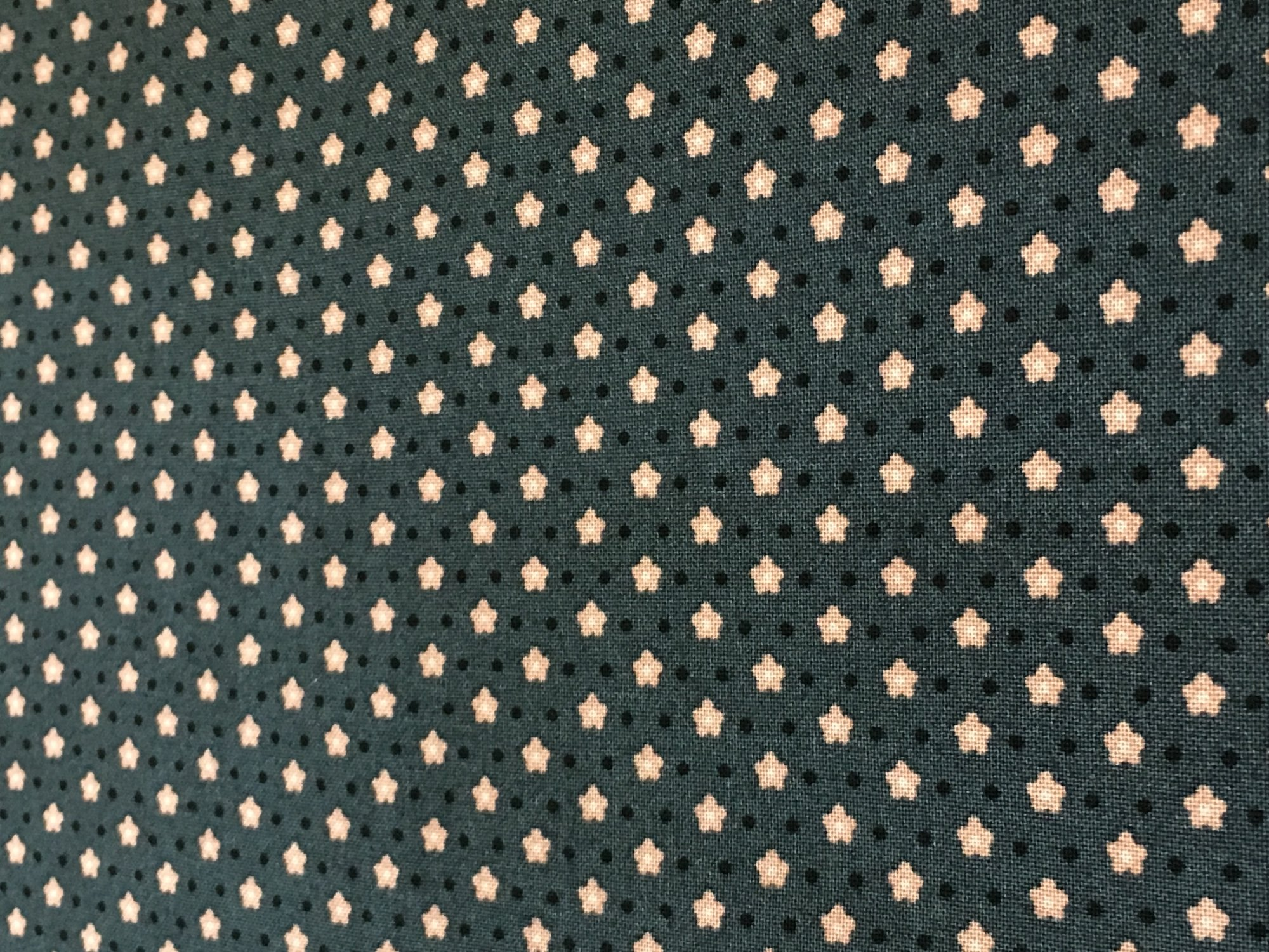 Quilter's History- Diagonal Flower Dark