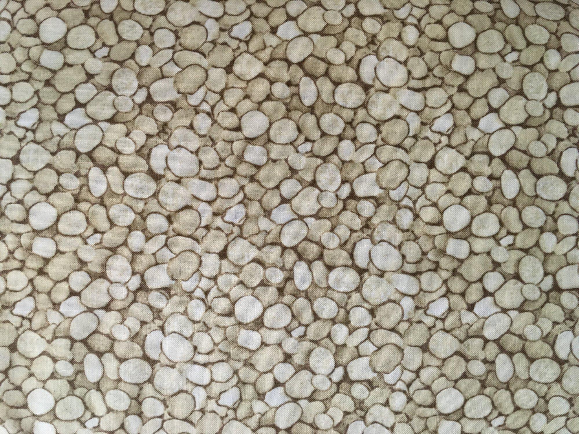 Natural Treasures Light Brown Pebbles