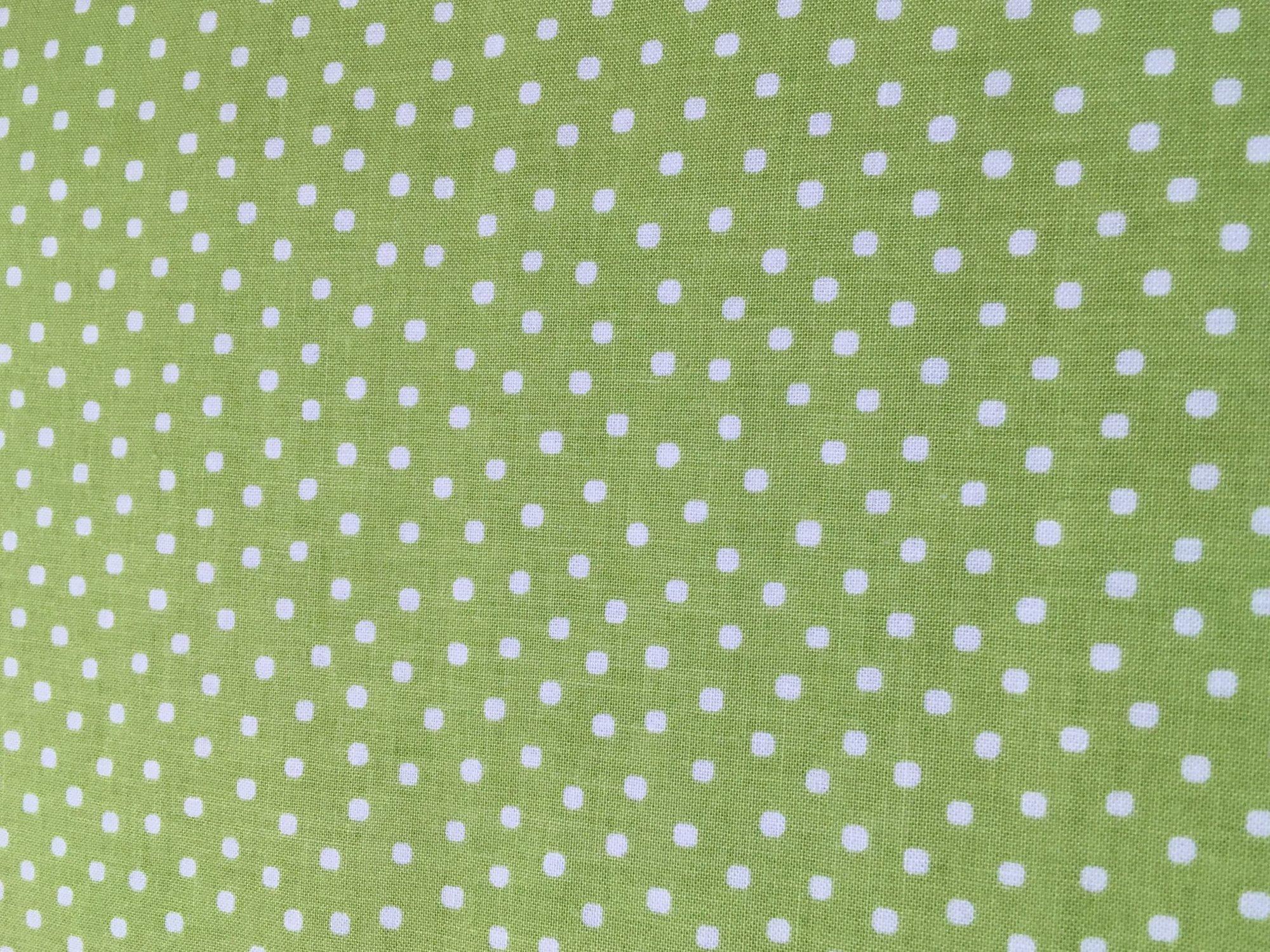 Paper Dolls Bakery Green Dots