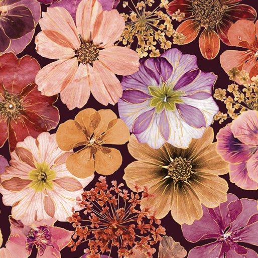 Floral Impressions Impressions Floral Plum/Magenta