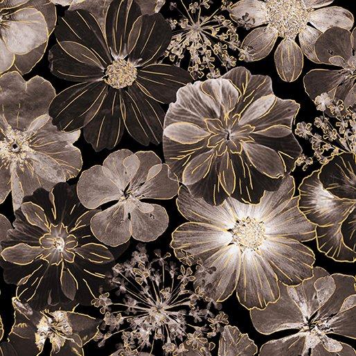 Floral Impressions Impressions Floral Dark Gray