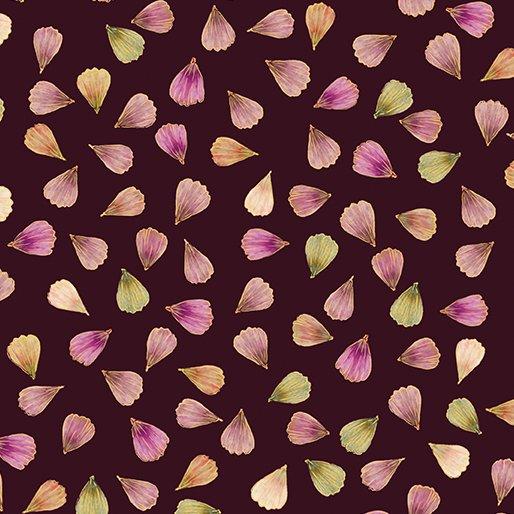Floral Impressions Pressed Petals Plum