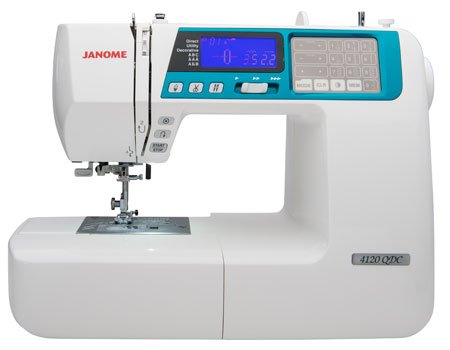 Janome 4120QDC WITH ALPHABET