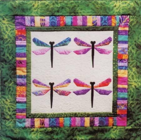 Bali Dragonfly Wallhanging Pattern