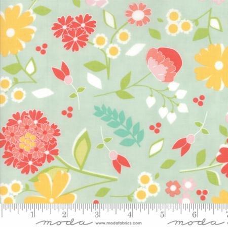 Flower Mill Bloomy Mist 29030 20  Moda Fabrics
