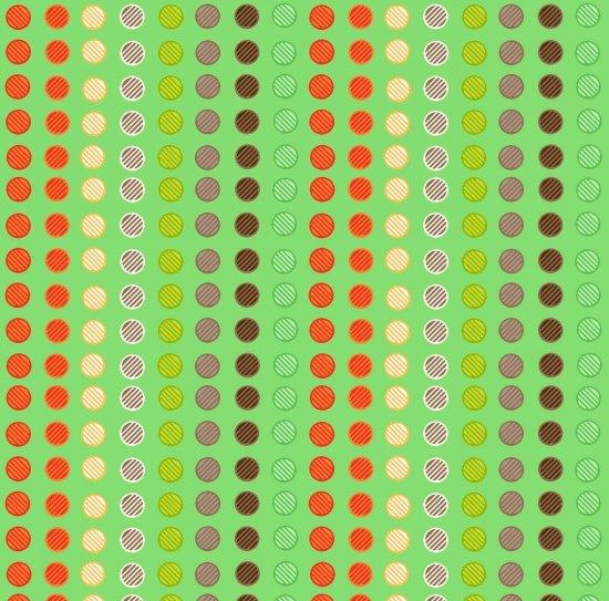 Clean Living Dots Blue 6692-11