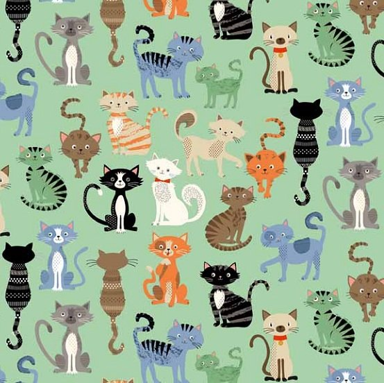Crafty Cats 1724-T