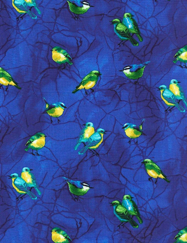 Birds Deep - C6050 Royal Timeless Treasures