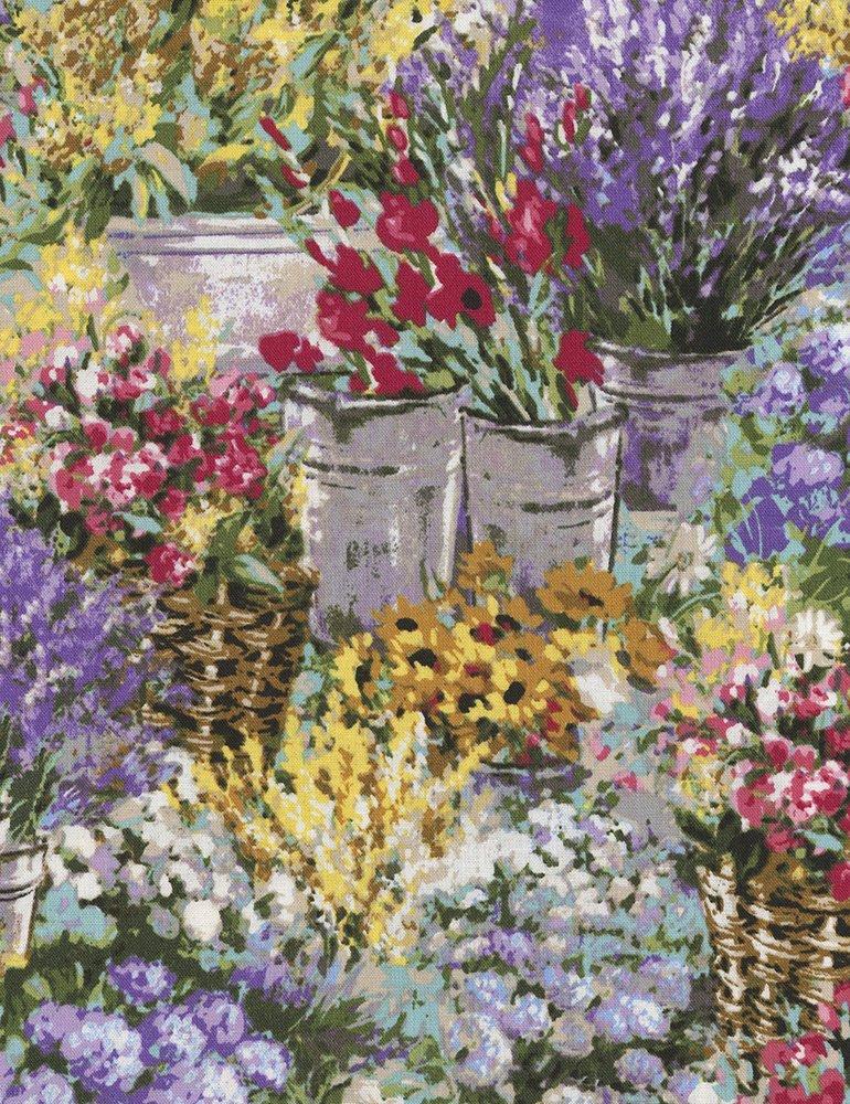 Dona C4833 Flower Market Timeless Treasure