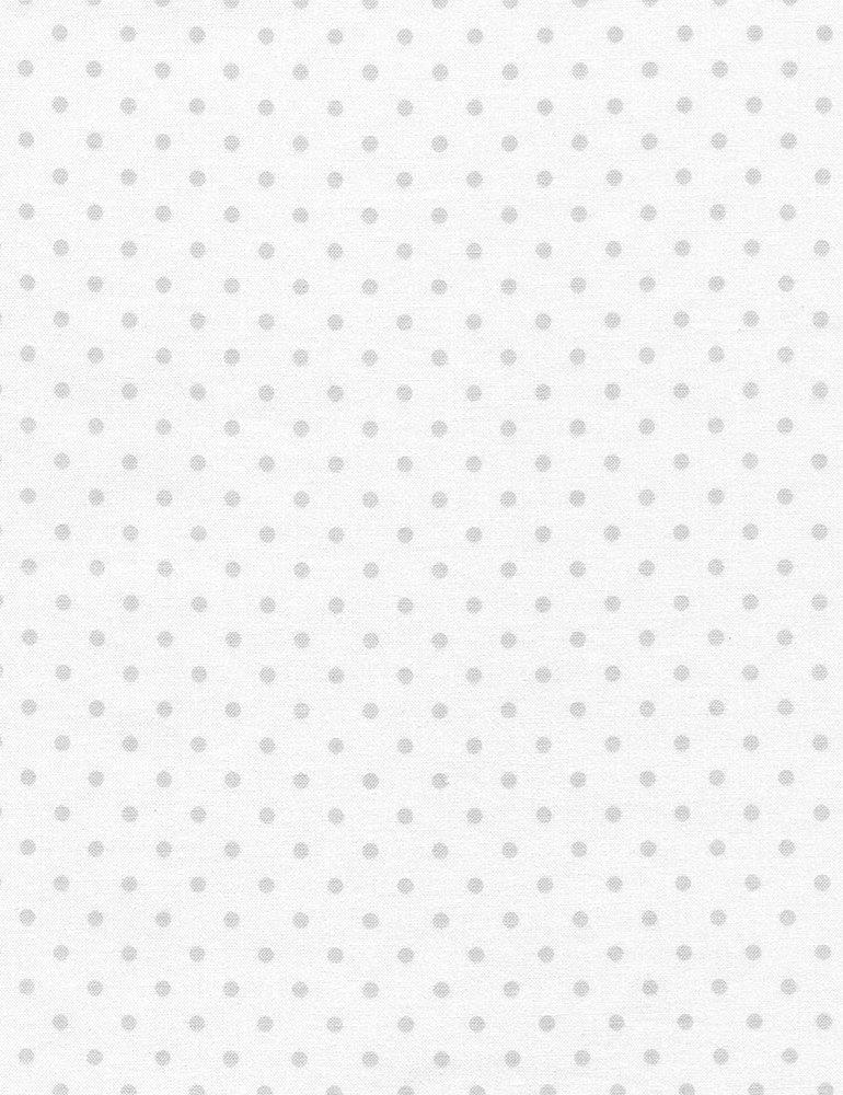 0120 Silver Polka Dot