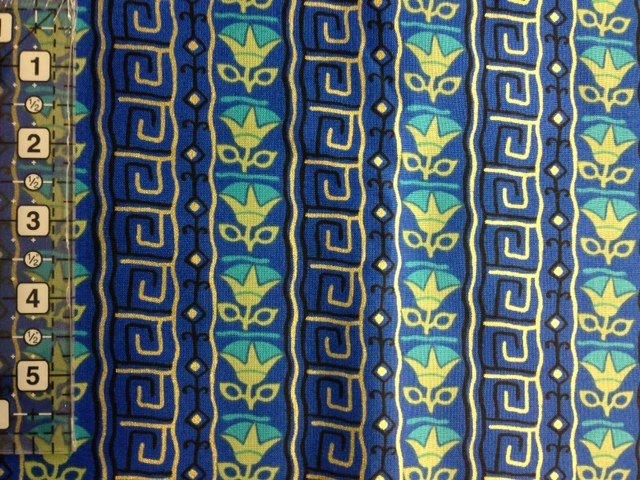 Downton Abbey Papyrus Blue