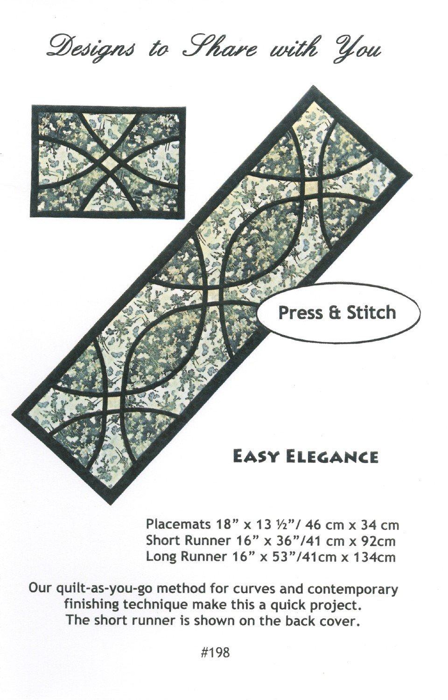 Easy Elegance DSY198 Pattern