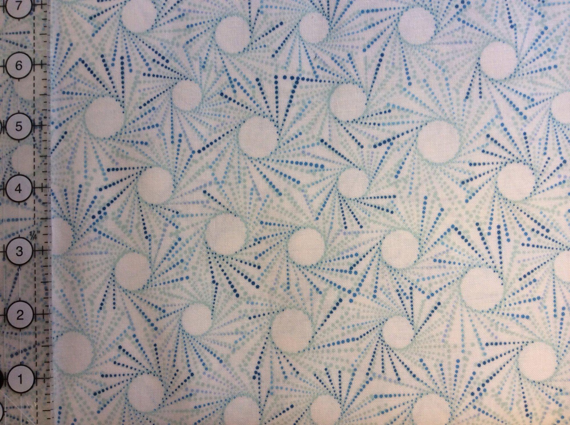 Flutter Geometric White