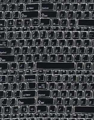 gail-c8694-black Keyboard