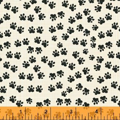 Hotdogs and Cool Cats 42083-4 Windham Fabrics