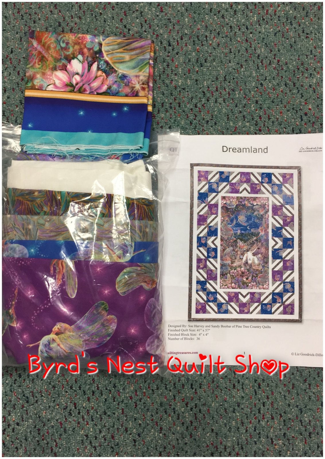 Dreamland Kit with binding