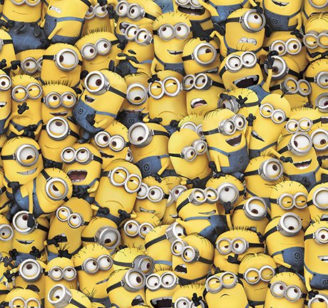MILLIONS OF MINIONS PACKED MINIONS  24964 -S Quilting Treasures