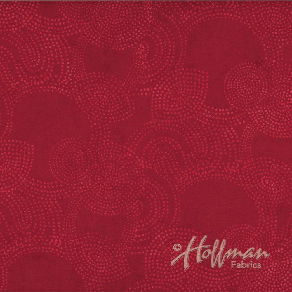 N2838-403-Cherry Batik Hoffman