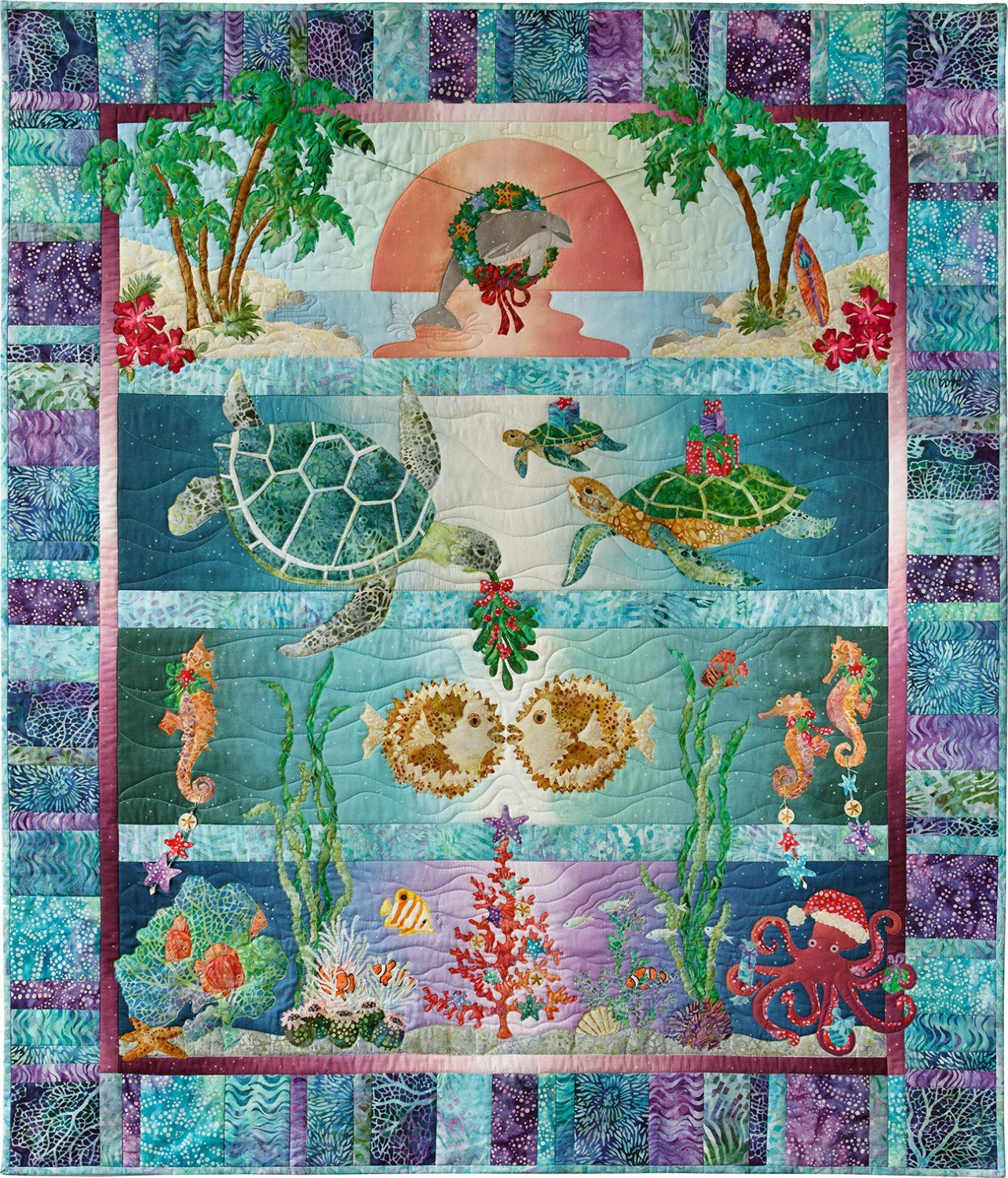 Tropical Noel Complete Pattern Set  NOEL05