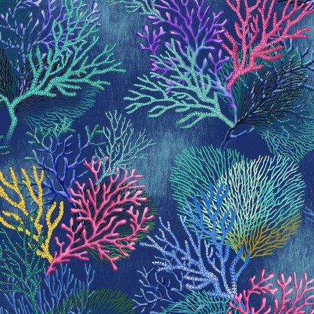 Coral Deep C6155 - Timeless Treasure