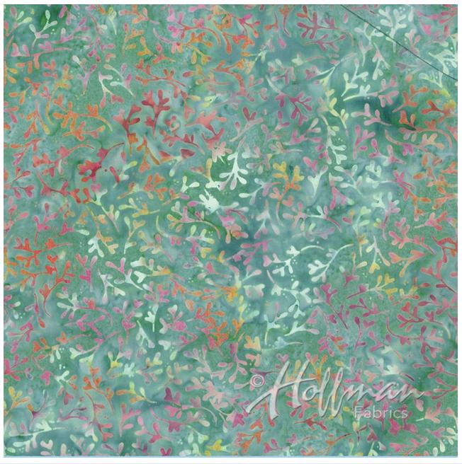 P2964-547 Loden Batik by Hoffman