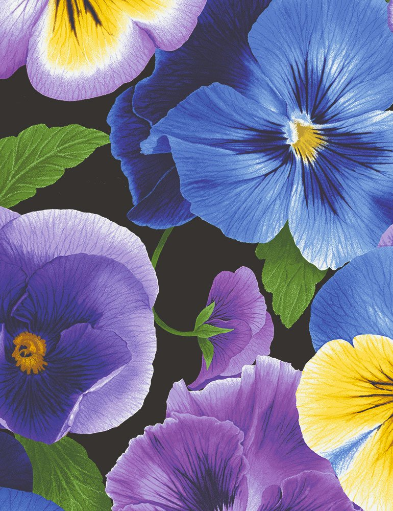 2001 Large Pansy  Timeless Treasures