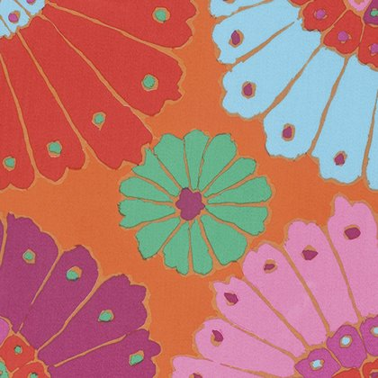 Carpet - Red Backing Fabric Item QBGP001-REDXX  Kaffe Fassett